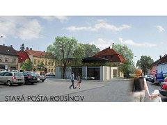 Stará Pošta v Rousínově se promění. Vznikne v ní penzion.