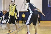 V utkání oblastního přeboru II. třídy podlehli basketbalisté BK Vyškov týmu SKB Brno Černovice A 52:53.