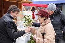 Vánoční trhy ve Vyškově potrvají do pátku.