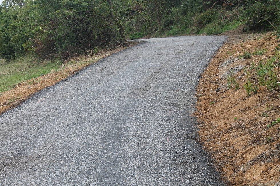 Nová cyklostezka spojuje vyškovské místní části Hamiltony a Lhota.