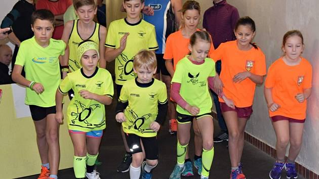V prvním letošním závodě seriálu Moravsko-slovenského chodeckého poháru v  Brně-Lískovci byly na stupních vítězů vidět i žluté barvy Orla Vyškov.