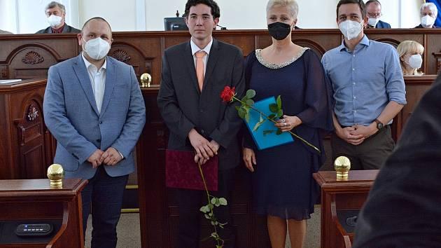 Již podruhé stanul na místě nejvyšším v soutěži České ručičky truhlář J. Neubaurer z Integrované střední školy Slavkov u Brna.