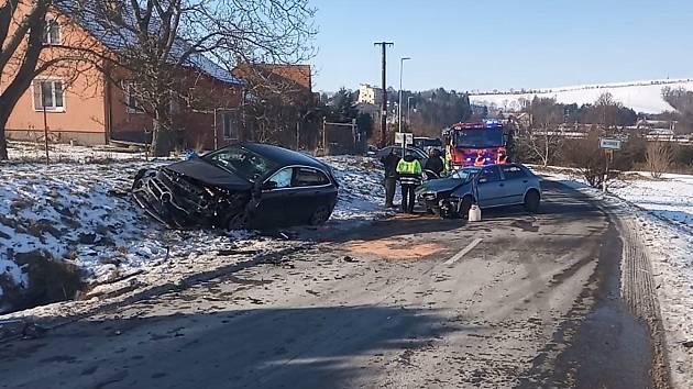 Vážná nehoda na několik hodin uzavřela silnici do Koryčan.