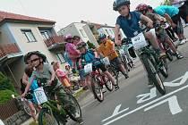 Desítky dětí i dospělých si na sobotních cyklistických závodech Tour de Podomí porovnaly své výkony. Odměnu si odnesl každý účastník.