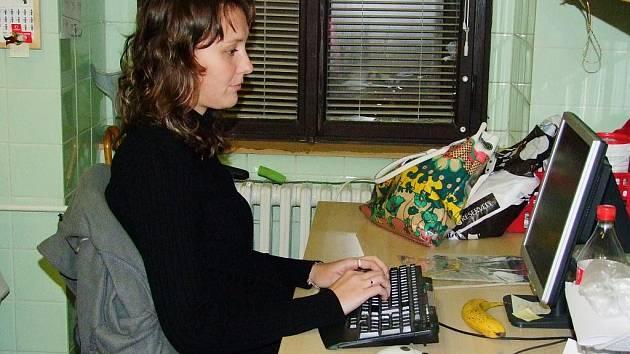 Sociální pracovnice Hana Kazdová