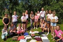 Kreativní příměstský tábor při Domu dětí a mládeže Bučovice naučil dívky řadu nových dovedností.