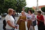 Ve středu 14. července uspořádala Knihovna Karla Dvořáčka po stopách Miroslavy Dorazilové.