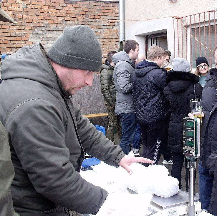 Zabijačkové hody v Otnici na Vyškovsku.