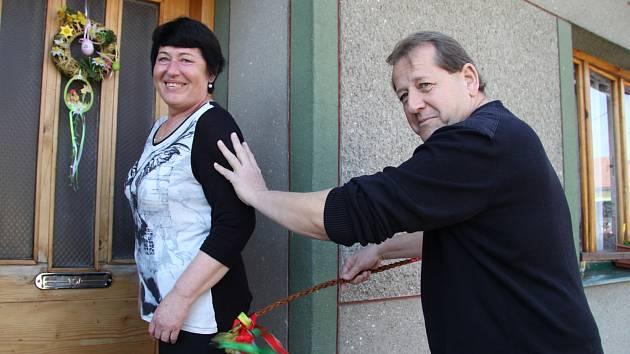 Ulice měst a obcí Vyškovska ožily tradičními velikonočními rituály.
