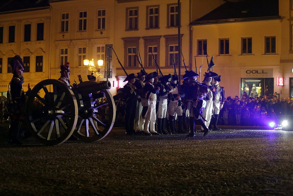 Vyškov si v úterý připomněl rok 1805. Střetl se zde předvoj Napoleonovy armády a ruského vojska.