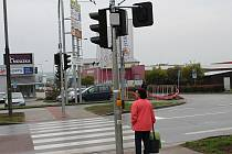 Semafor v Brněnské ulici