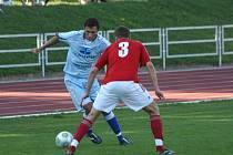 Vyškovští fotbalisté v neděli proti diviznímu nováčkovi zklamali.