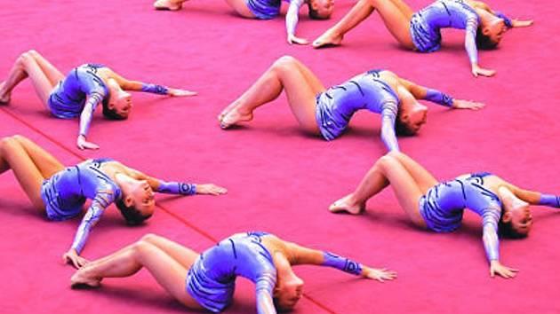 Na olomouckých soutěžích se dařilo oběma vyškovským družstvům. Za své sestavy za hudebního doprovodu v estetické skupinové gymnastice děvčata posbírala medailová ocenění.