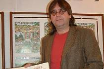 Josef Lada mladší na výstavě ve Švábenicích.