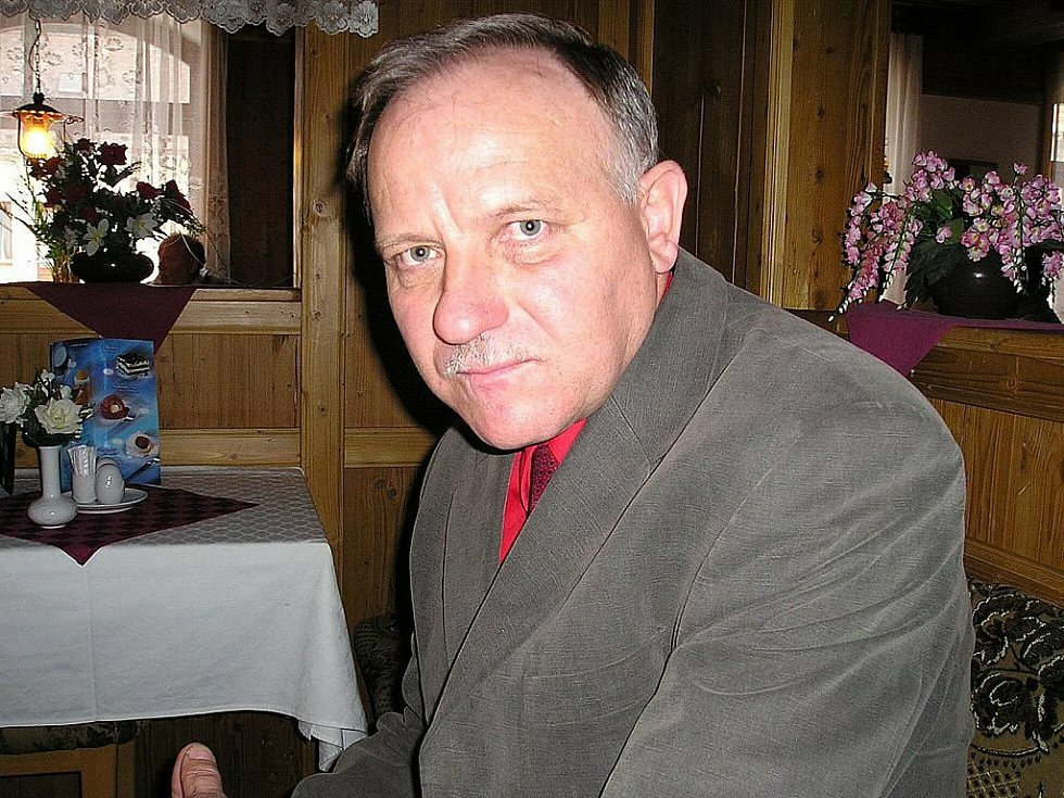 Bývalý starosta Studnice Vladimír Koutný.