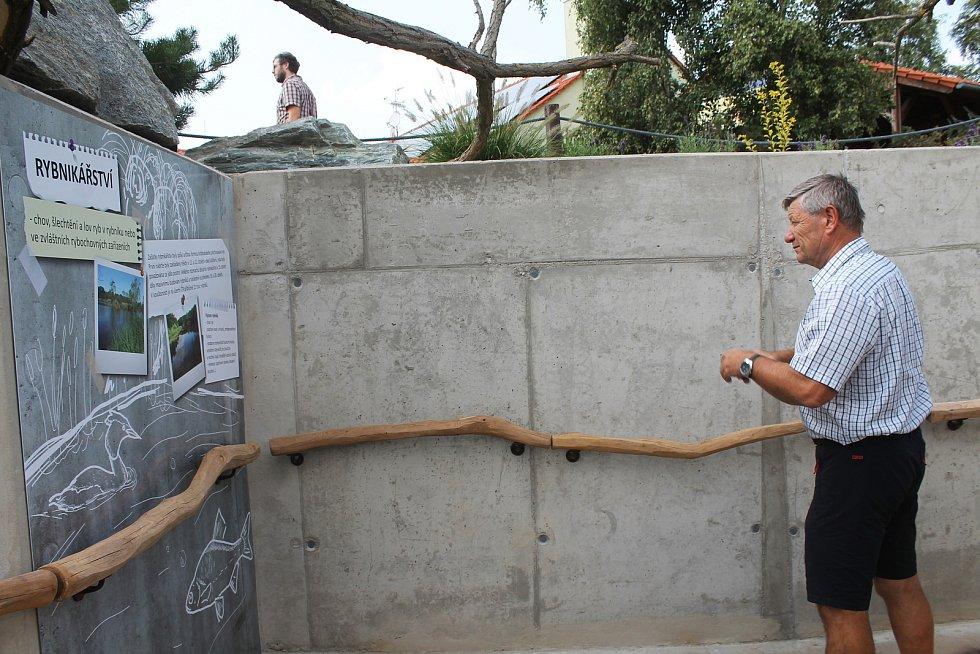 Vyškovský zoopark otevřel novou expozici. Návštěvníci se díky ní seznámí s životem ryb.