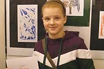 Vernika Menšíková z vyškovské základní školy v Nádražní ulici sbírá ocenění ve výtvarném i hudebním oboru.