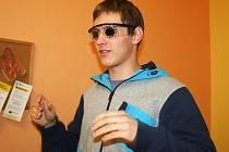 Tyflocentrum Vyškov uspořádalo Den otevřených dveří, na kterm si návštěvníci mohli na vlastní kůži vyzkoušet, jak se žije slepým a také lidem z dalšími očními vadami.