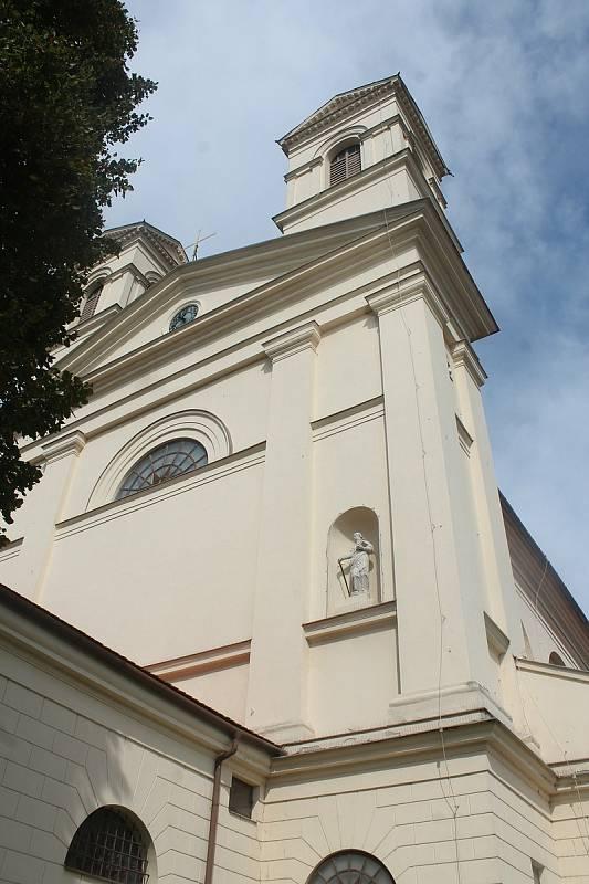 Kostel Nanebevzetí panny Marie v Bučovicích.