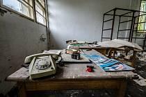 Opuštěná továrna fungovala ještě do devadesátých let.