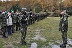 Ve vyškovských kasárnách se v těchto dnech připravují vojáci na misi do Afghánistánu.