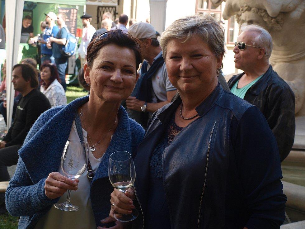 Zámecký košt vín v Bučovicích.