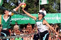 Ve Slavkově se o víkendu konalo mistrovství České republiky Kooperativa Cup 2007 v plážovém volejbalu dvojic mužů.