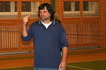 Hlavní trenér Vladimír Golda.