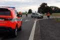 K tragické dopravní nehodě spěchali v sobotu kolem třetí hodiny odpolední záchranáři, hasiči a policie na křižovatku nedaleko Lulče. Střetl se tam motocyklista s osobním autem. Motorkář na místě zahynul.