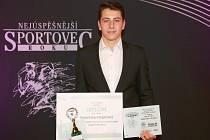 Nejlepší sportovec Vyškova v roce 2020 Sebastian Hajzler.