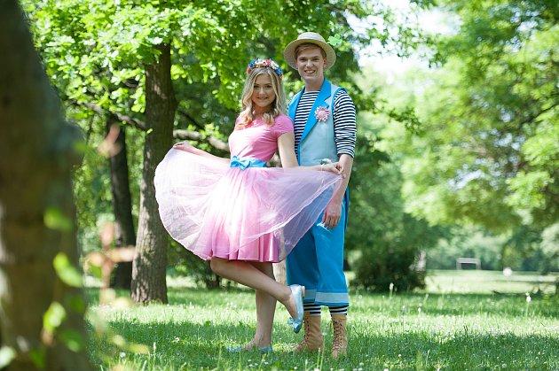 Na rodinním festivalu Pohádkoland ve Slavkově vystoupí idětmi oblíbená dvojice Štístko a Poupěnka.