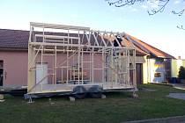 Cely domek bude mít pouze osmnáct metrů čtverečních.
