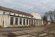 Areál bývalé vyškovské traktorové stanice.