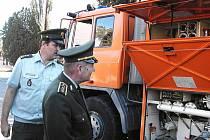 Vybavení záchranného vojenského praporu v Bučovicích ocenili i hosté ze zahraničních armád.