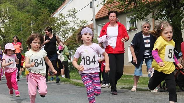 Závod Lulečský preclík se ve vesnici konal pošesté.
