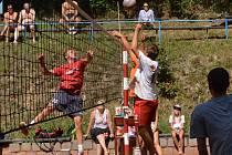 Volejbalový turnaj o Pohár Lulče vyhráli muži Fatry Zlín a ženy složeného týmu Plácačky Brno.