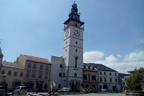 Radnice na Masarykově náměstí ve Vyškově.