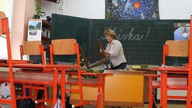 Ve většině škol Vyškovska dnes není po žácích ani památky. Jejich učitelé vstoupili do stávky.