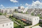 V komplexu bude pro zájemce k odkoupení 136 nových bytů. První majitelé se mají začít stěhovat příští rok na podzim.