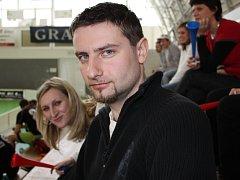 Vedoucí florbalového klubu z Ivanovic na Hané Petr Heroudek.