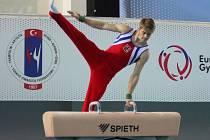 Sportovní gymnasta Miroslav Durák, Sokol Brno I, odchovanec Sokola Bučovice.