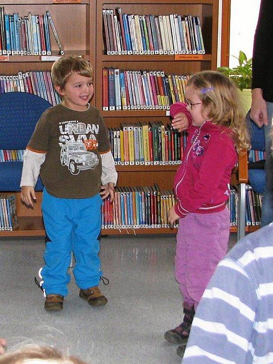 Den pro dětskou knihu ve vyškovské knihovně,
