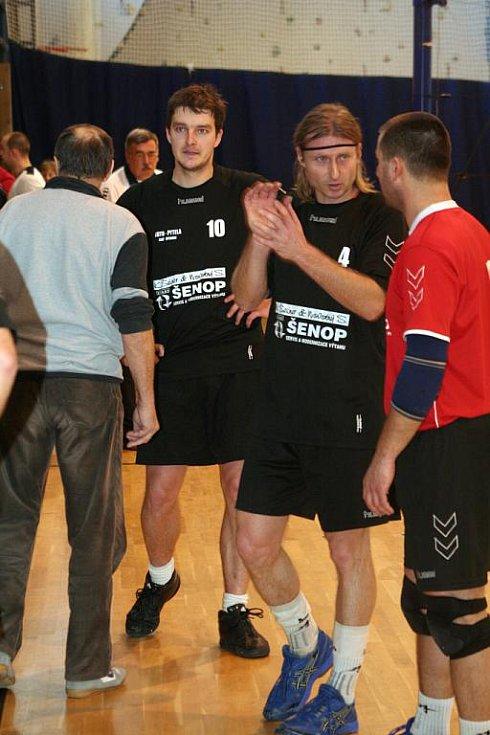 Vyškovští volejbalisté si v duelech s Ostravou připsali dvě vítězství.