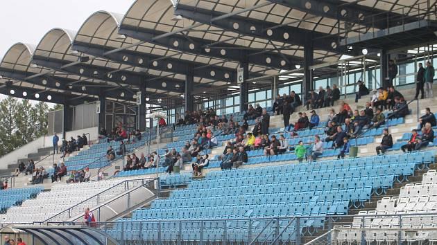 V Drnovicích se bude opět hrát profesionální fotbal. Azyl zde našel nováček II. ligy MFK Vyškov.
