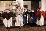 Stodola Hanáckého statku ve Vyškově připomněla tradiční akcí návštěvníkům zvyky a tradice v době adventu Součástí byl i jarmark.