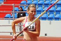 Atletka Eva Šenková.