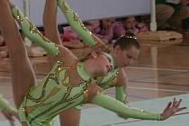 Vyškovské moderní gymnastky budou určitě patřit na sobotním závodě v hale Základní školy Purkyňova mezi jedny z favoritek na nejvyšší příčky.