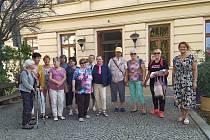 Literárně-kulturní procházka se konala ve Vyškově 22. září a pořádala ji vyškovská knihovna.