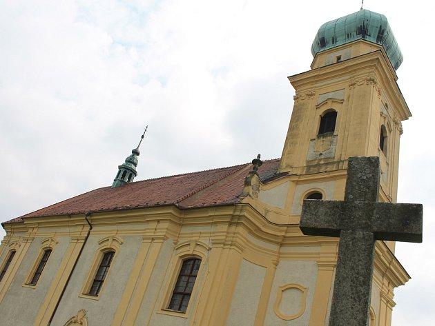 Lulečský kostel svatého Martina.
