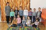 První třída s třídní učitelkou Alenou Kousalovou